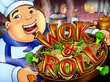 Wok and Roll logo